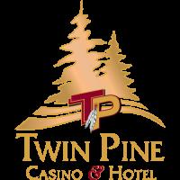 Twin Pine Casino Hotel logo